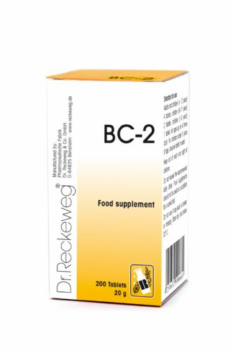Schuessler BC2 combination cell salt - tissue salt